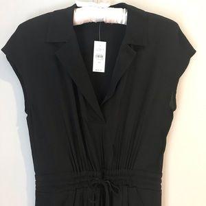 NWT Ann Taylor LOFT Dress Black Size XS